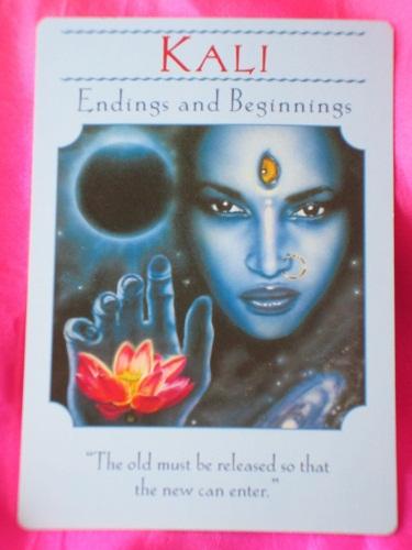 Goddess Kali from Hindu mythology, from http://www.daily-tarot-girl.com