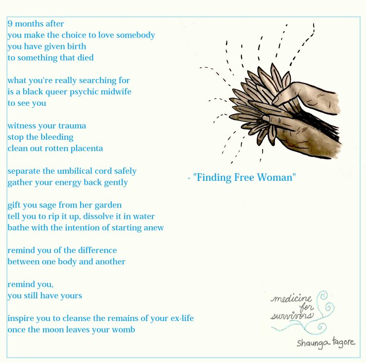 breakup affirmations - finding free woman