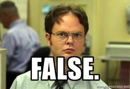 dwight-schrute-false
